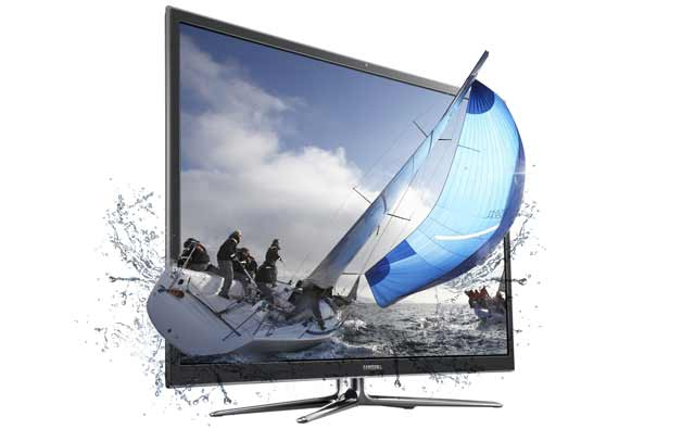 Curved 3D TV