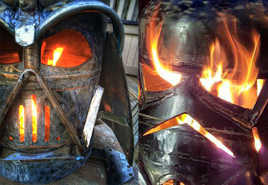 Hand-crafted Fire Pit