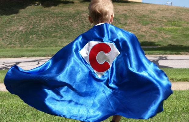 Customized superhero cape