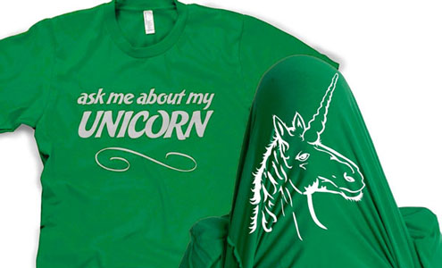 Ask me about my unicorn
