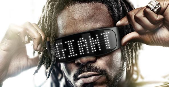 Bluetooth LED Glasses