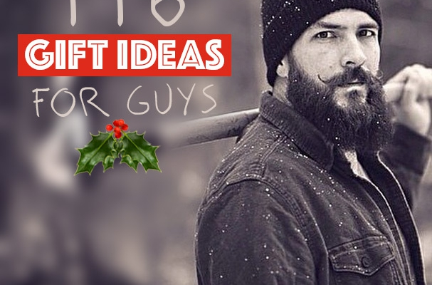 116 Christmas Gift Ideas for Guys 2016