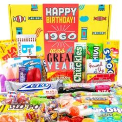 Retro birth-year candy