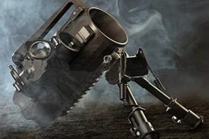 Tactical Multi-function Aluminum Man Mug