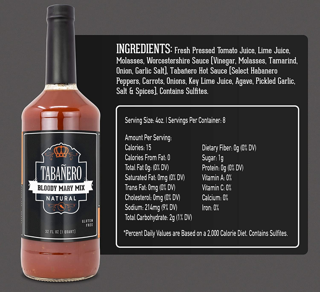 Bloody mary mix gift ideas for dad for fathers day
