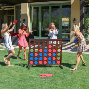 connect 4 backyard fun gift for dad fathers day gift idea