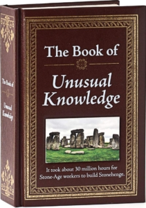 the book of unusual knowledge - gift ideas for fathers day