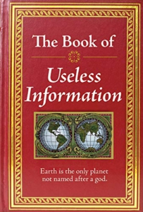 the book of useless information - fathers day gift idea