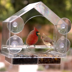 Bird feeder fathers day gift idea