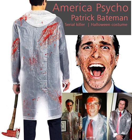 mens costume ideas American psycho Patrick Bateman