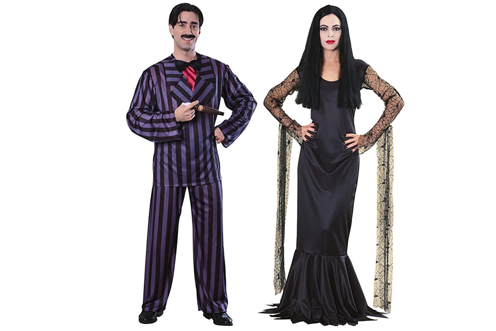 couples halloween costume ideas funny Adams family