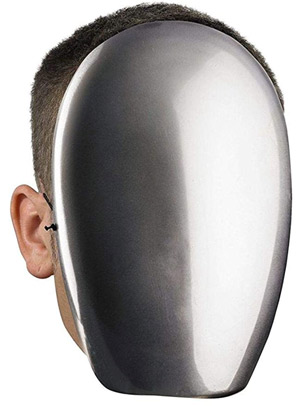 mirror mask halloween mask idea for men