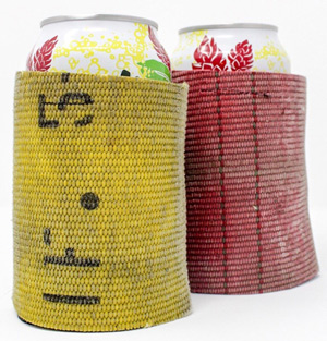 Fire Hose beer coozie firefighter gifts