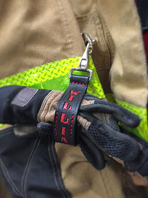 firefighter gifts glove strap