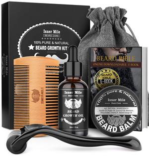 Cheap 21st Birthday Gift ideas - beard grow kit