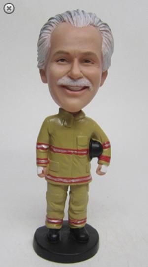 firefighter bobblehead custom gift idea for firefighters
